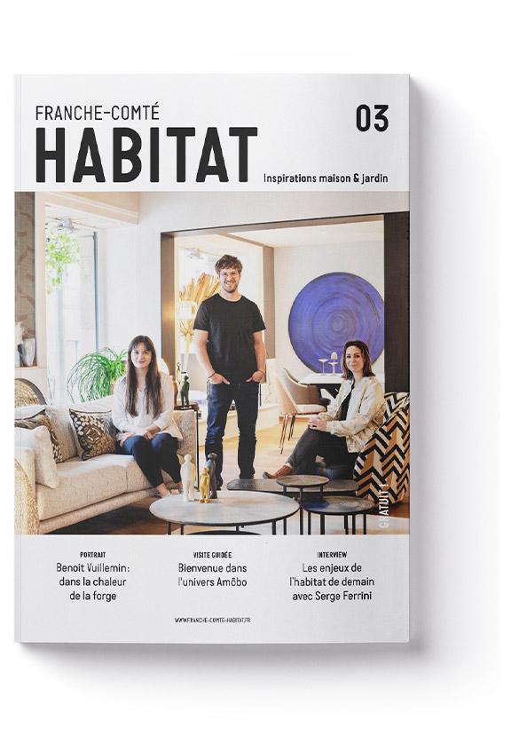 Couverture Magazine n°3 Franche-Comté Habitat