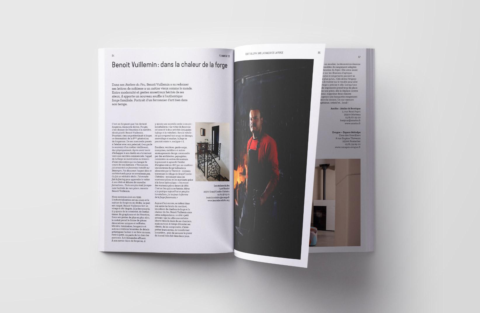 Magazine n°3 Habitat Franche-Comté